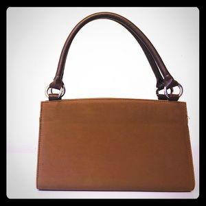 Brown Miche mini bag
